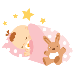 New Baby Girl Clipart Sleeping. Snowjet.co.