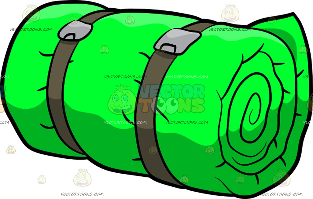Sleeping Bag Clipart.