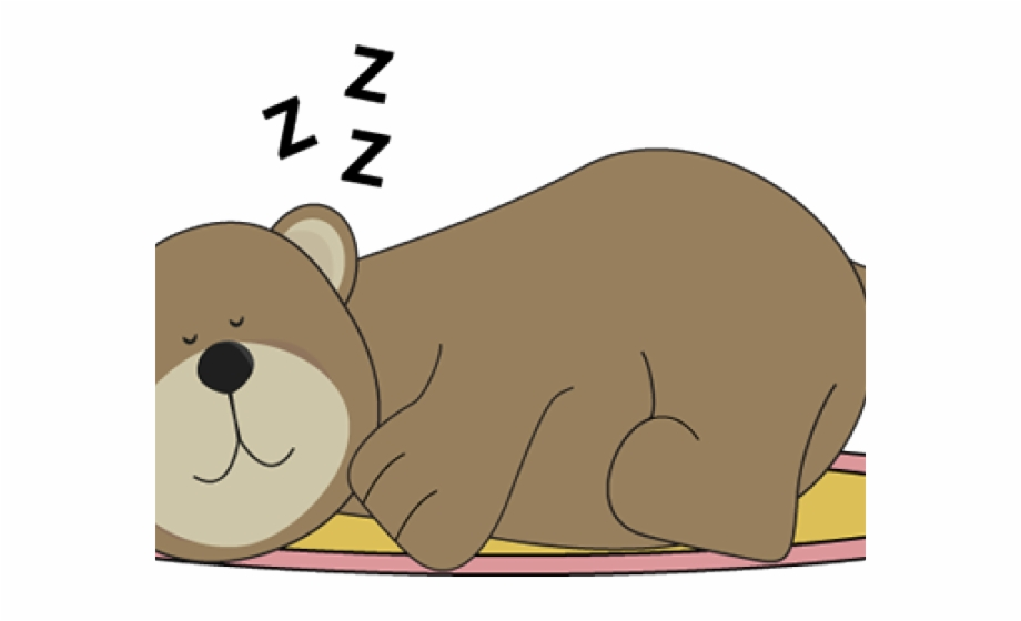 Polar Bear Clipart Sleeping Bear.