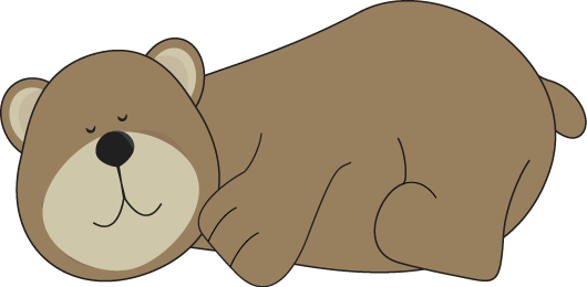 Sleeping bear clipart clipart images gallery for free.