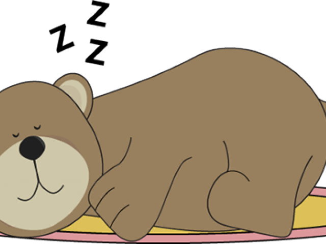 Polar Bear Clipart Sleeping Bear Bears Hibernating Clipart.