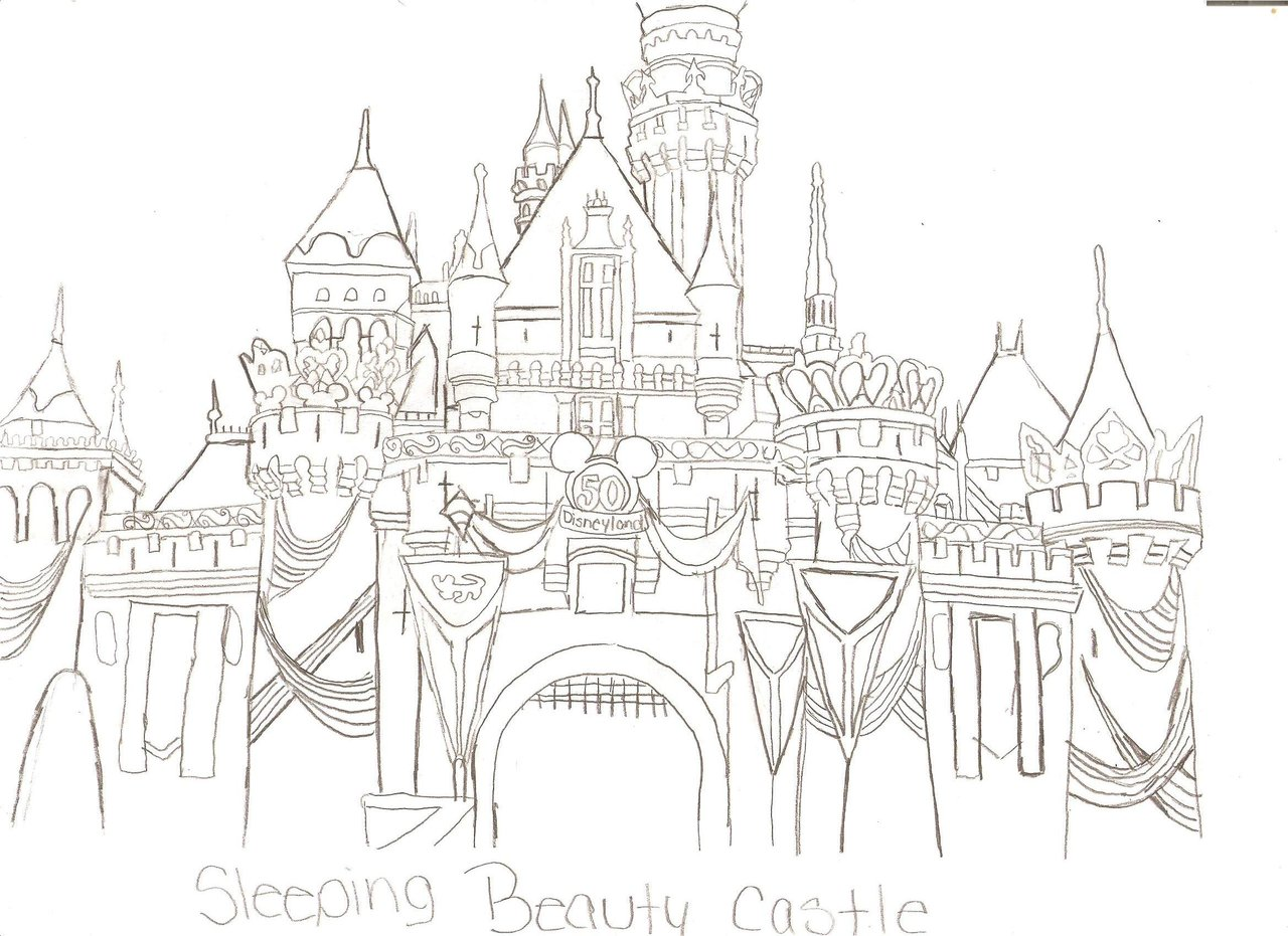 Coloring Pages Of Sleeping Beauty. Beauty And Beast Coloring Pages.