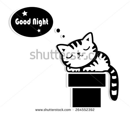 Sleeping Cat Stock Images, Royalty.