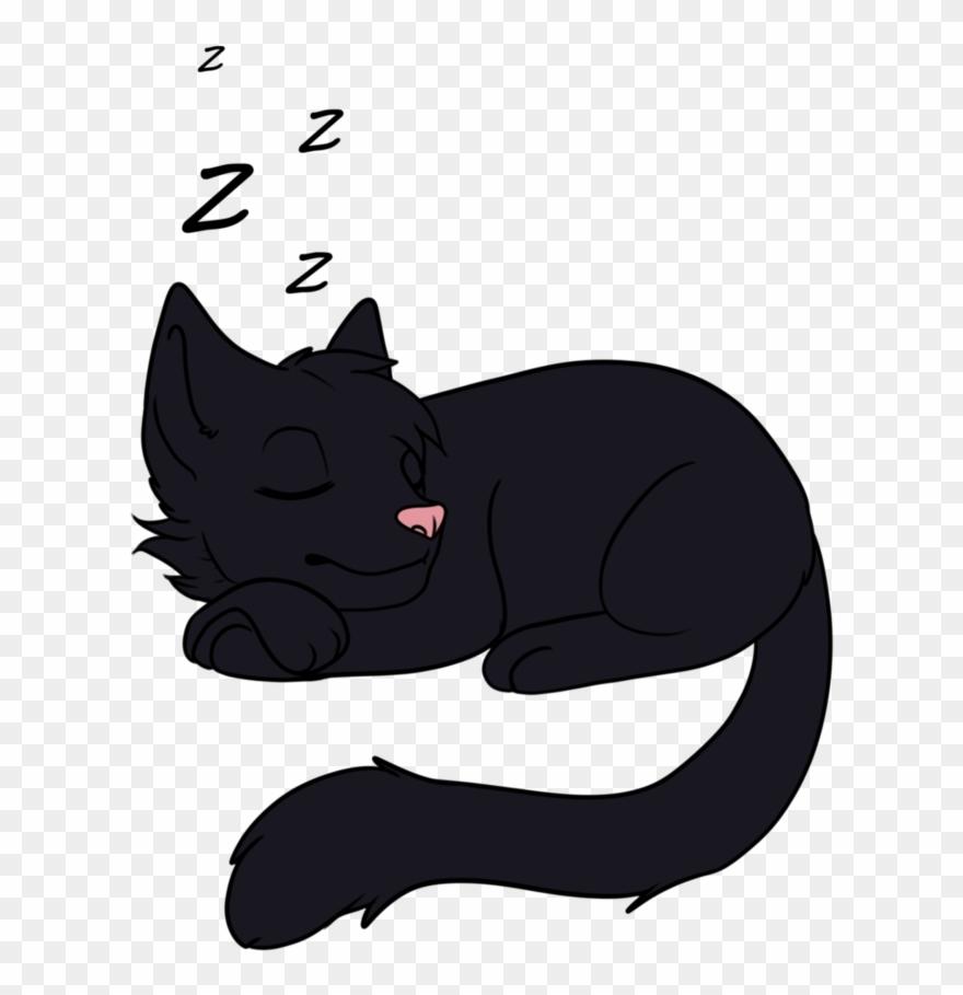 Sleeping Cat Png.