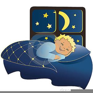 Clipart Of Children Sleeping.