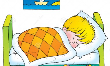 Sleeping clip art.