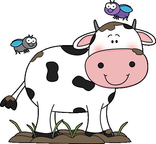 Cute Cow Clip Art.