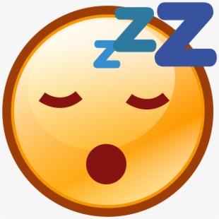 Clipart Sleeping Sleepy Emoji.