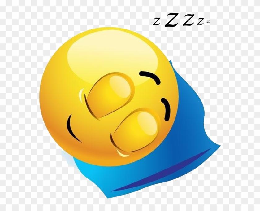Smiling Sleeping Emoji , Png Download.