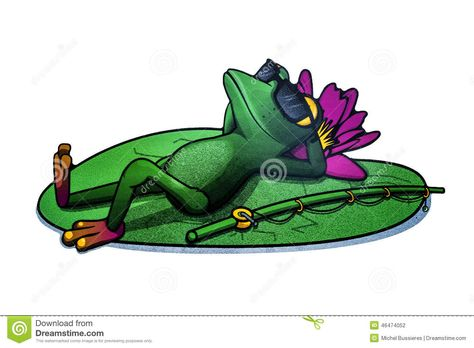 Sleeping Frog Stock Photos, Images, & Pictures.