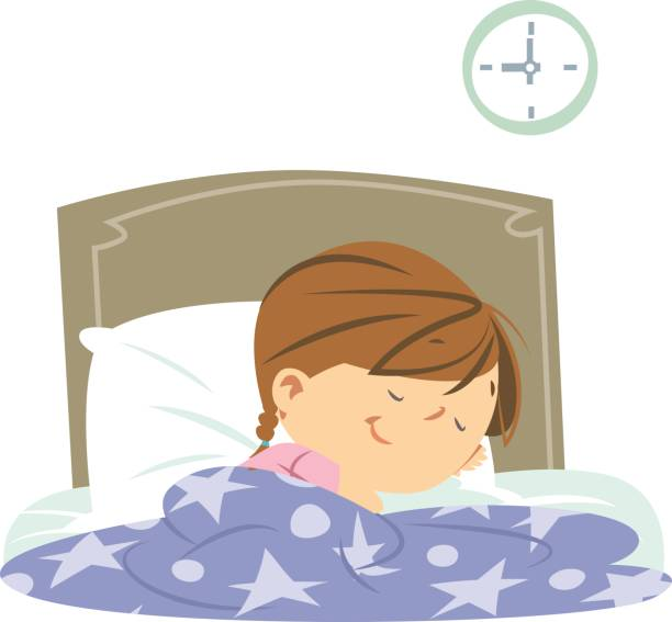 Sleeping girl clipart » Clipart Station.