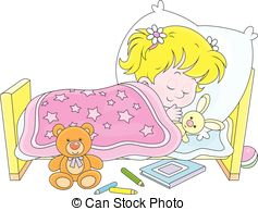 Sleeping girl clipart - Clipground