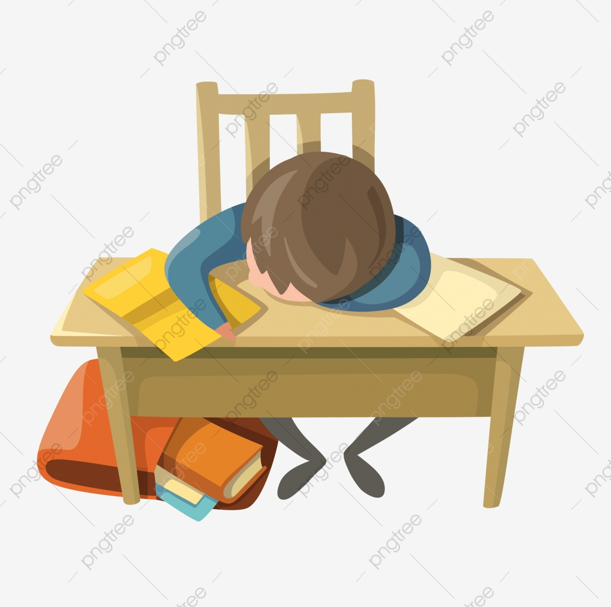 Learn Student College Entrance Examination Review, Doze Off.