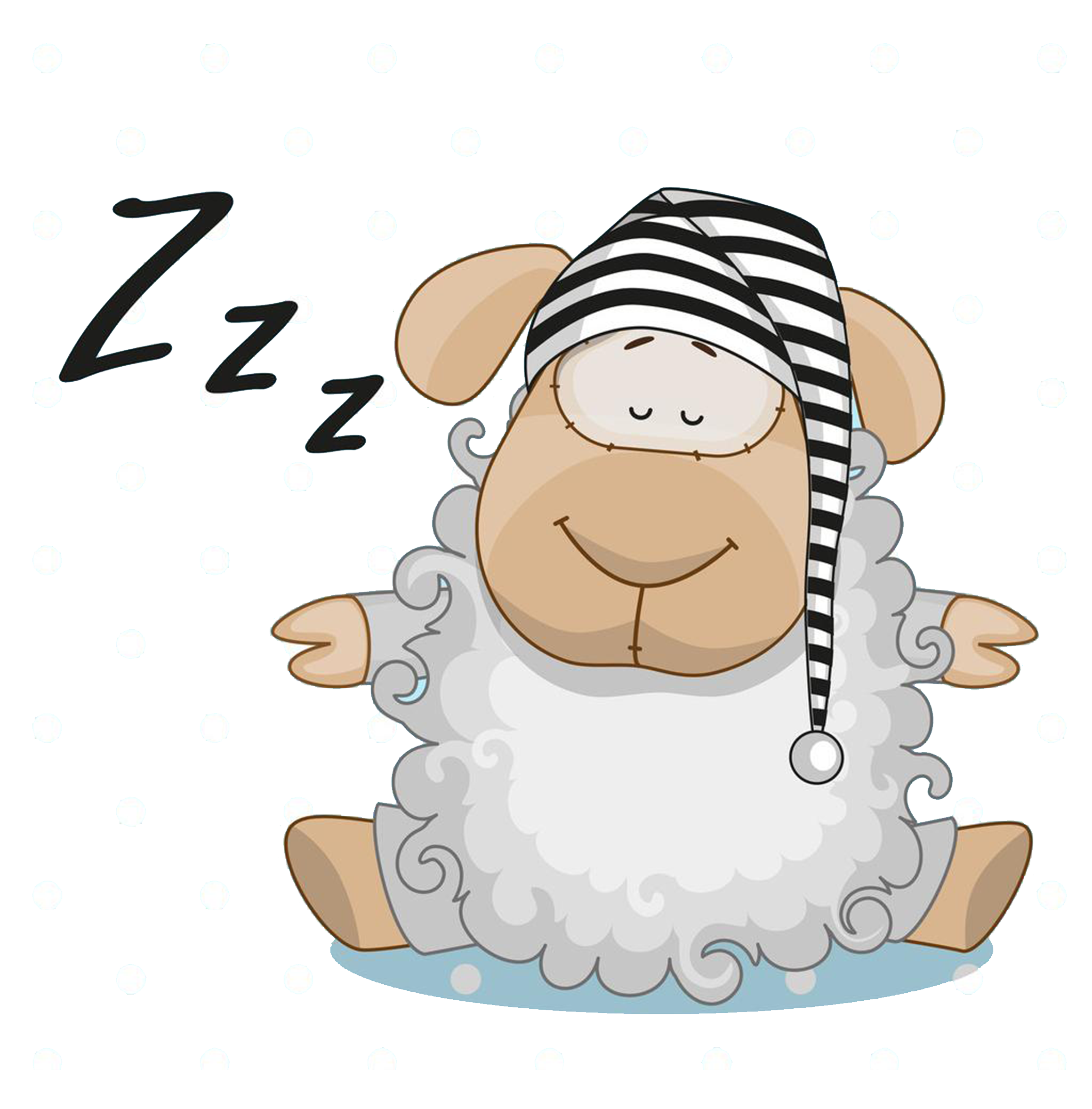 Lamb clipart sleeping, Lamb sleeping Transparent FREE for.