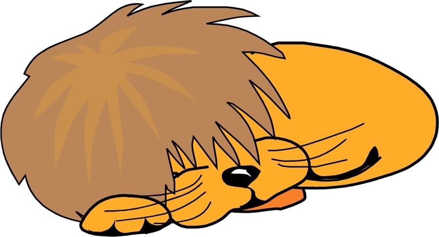 Download sleeping lion cartoon png clipart Lion Simba Clip.