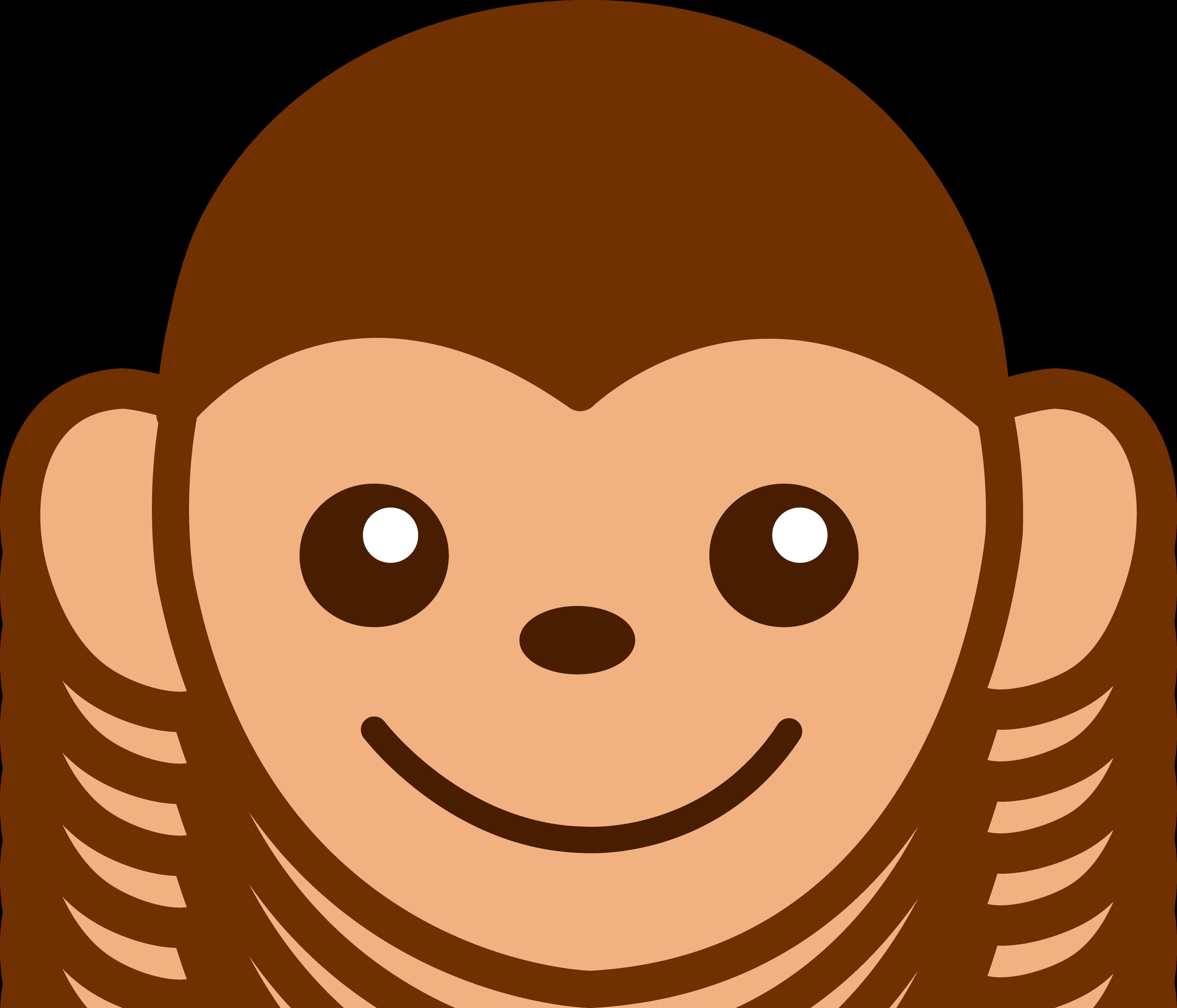Animated Monkey Clipart.