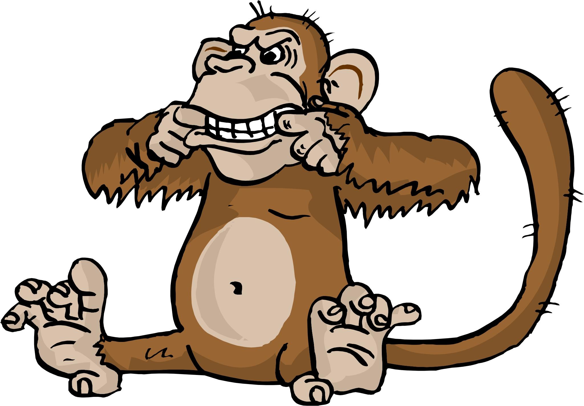 Monkey Cartoons.