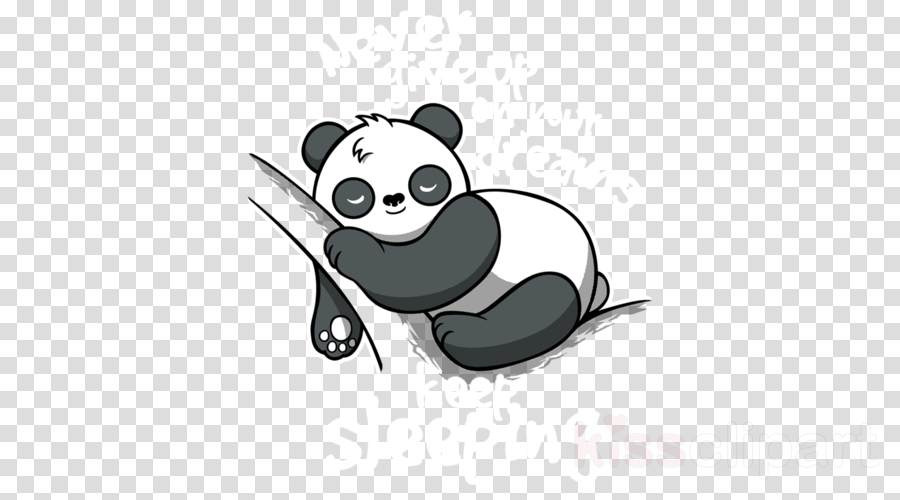 Panda Drawing clipart.
