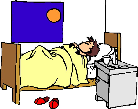 Sleeping Person Clipart.