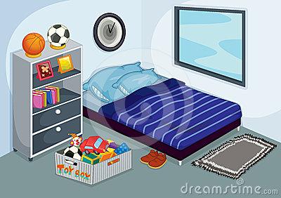 Sleeping room clipart clipground for Cuarto desordenado