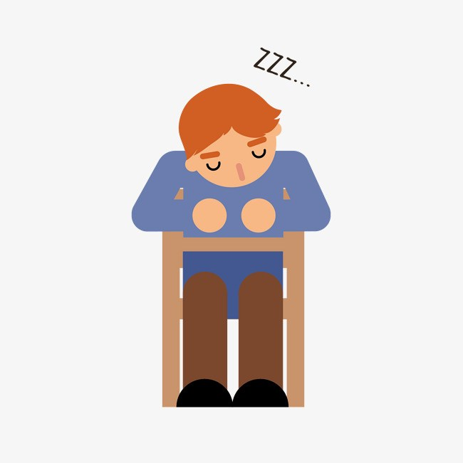 Sleeping student clipart 6 » Clipart Portal.