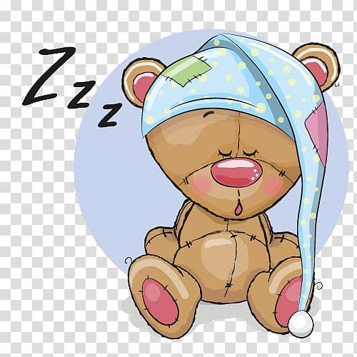Brown bear plush toy, Bear illustration Illustration.