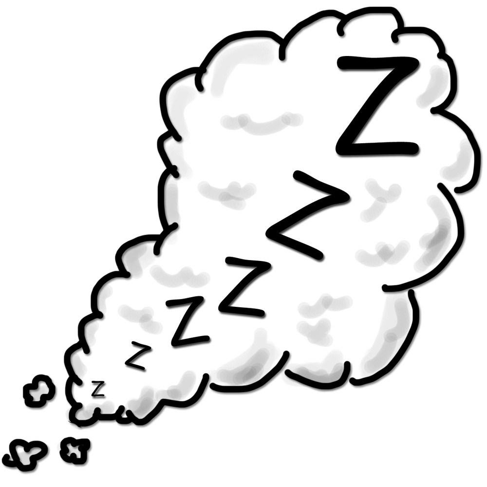 Sleeping zs clipart » Clipart Portal.