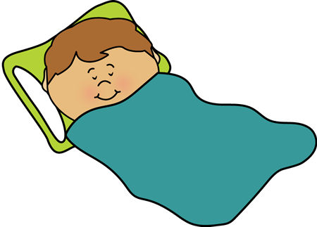 Boy Sleeping Clipart.