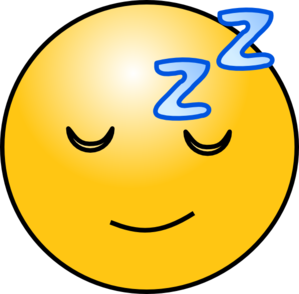 Sleepy Clip Art at Clker.com.