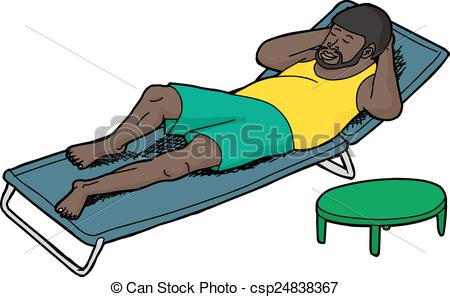 Sleeping Man Clipart.
