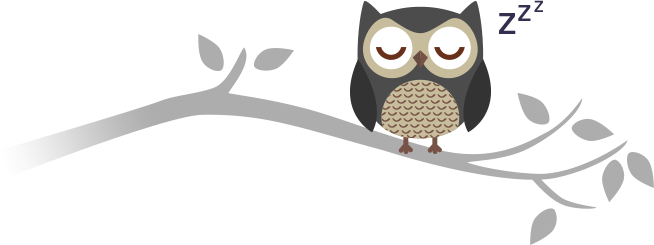 Sleeping Owl Clipart.