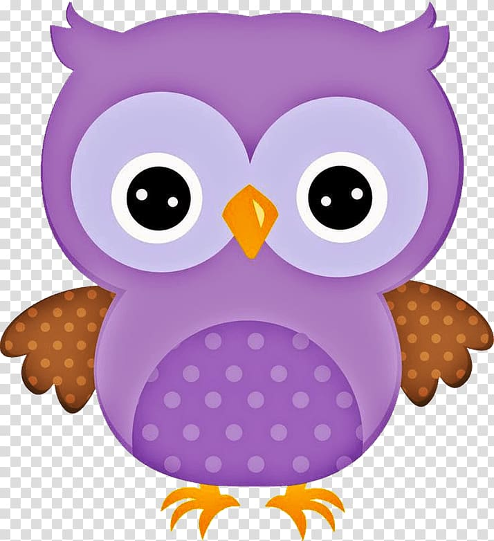 Owl Cartoon , sleepy owl transparent background PNG clipart.