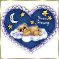 Sleepy Time Clipart.