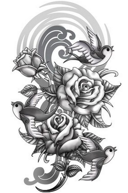 Flower Tattoo Designs.