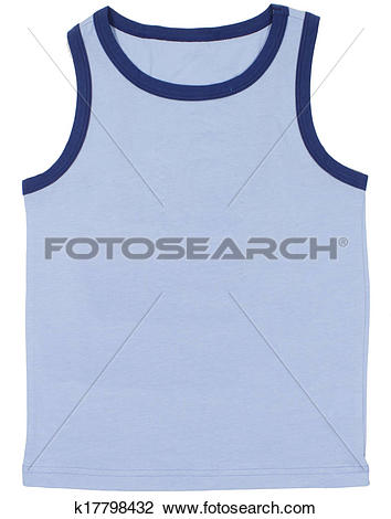 Stock Photography of sleeveless sports shirt k1611621.