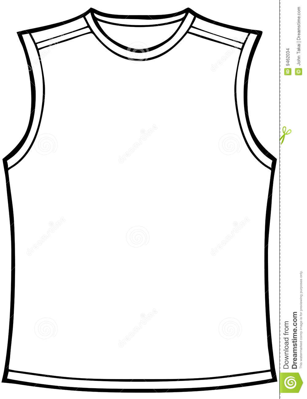 Clip Art Black And White Shirt Clipart.