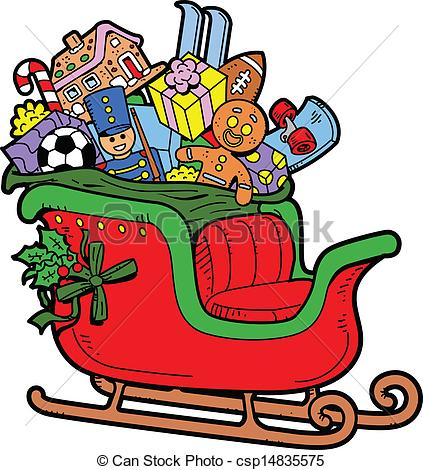Sleigh Clipart and Stock Illustrations. 8,711 Sleigh vector EPS.