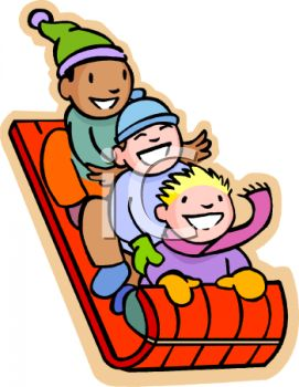 Showing post & media for Sleigh ride clip art cartoon.