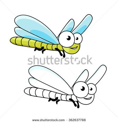 Blue Elegant Dragonfly Isolated Stock Photos, Royalty.