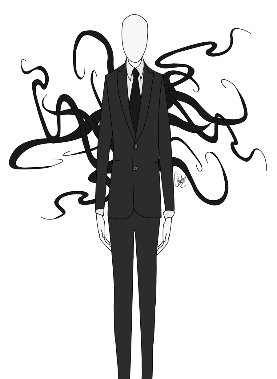 Slender man png clipart images gallery for free download.