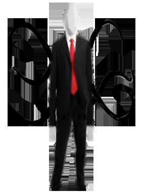 Slender Man PNG Transparent Images.