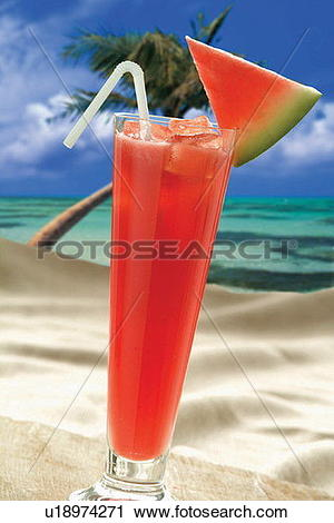 Stock Photography of Drinking Straw, Fruit, Slice, Blue, Fruits.