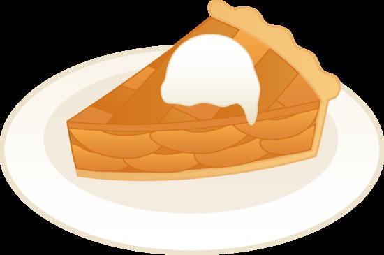 Slice Of Apple Pie Clipart.