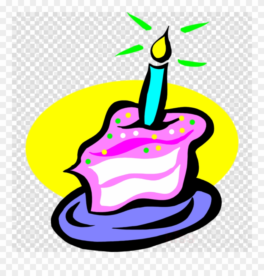 Slice Of Birthday Cake Clipart Birthday Candles Chocolate.