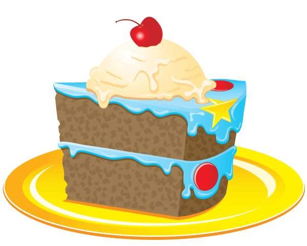 54+ Slice Of Cake Clipart.