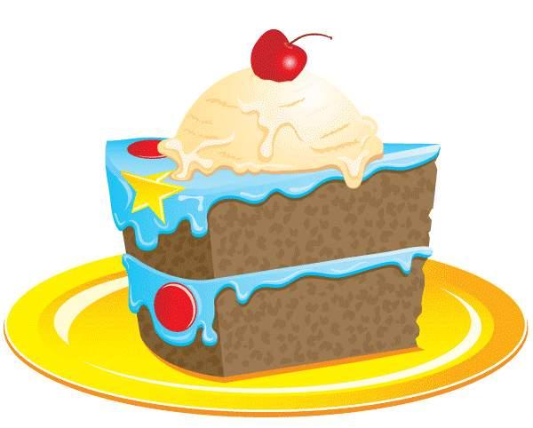 Slice Of Cake Clipart.