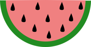 Slice Of Watermelon Clip Art at Clker.com.