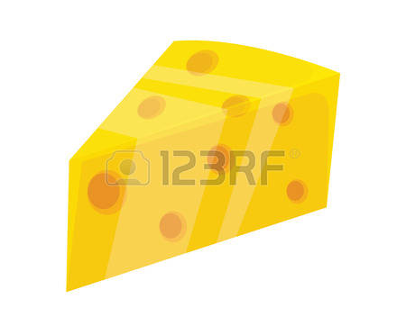 1,691 Sliced Cheese Stock Vector Illustration And Royalty Free.