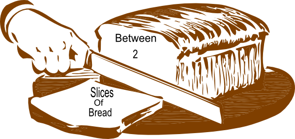 Between 2 Slices Of Bread Clip Art at Clker.com.
