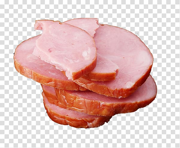Sliced ham, Ham Sausage Delicatessen Meat Capocollo, Sliced.